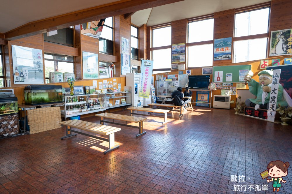 由利高原鐵道矢島站