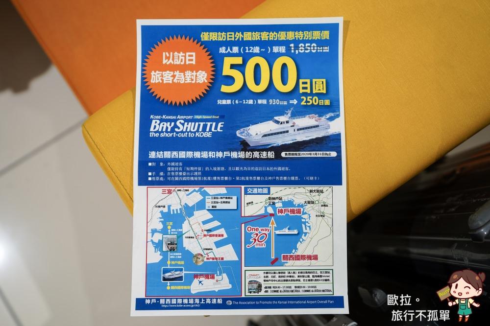 500日圓神戶高速船