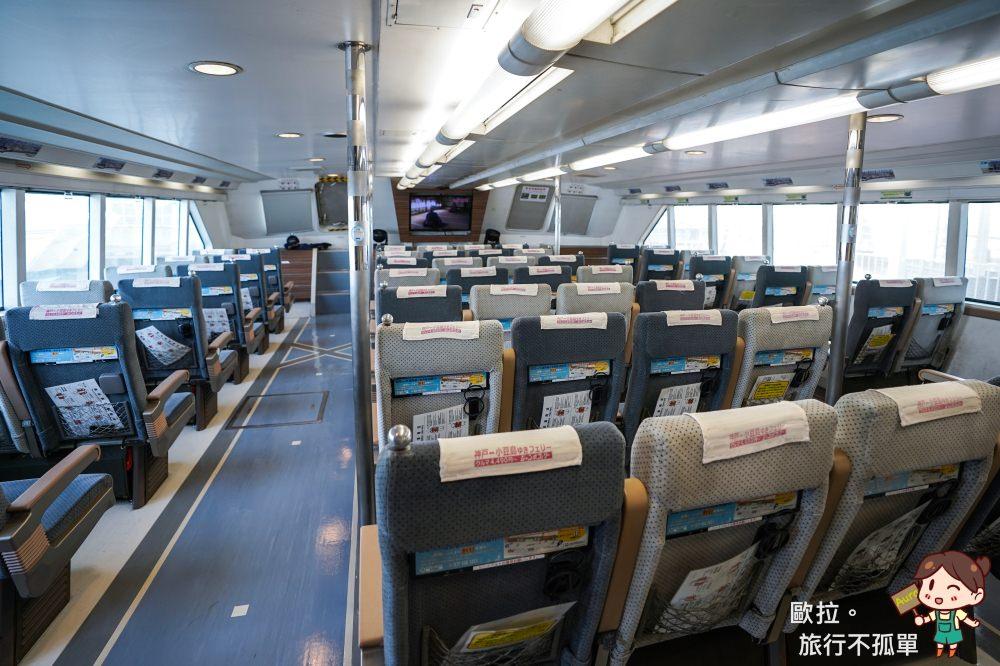 關西機場神戶高速船座位